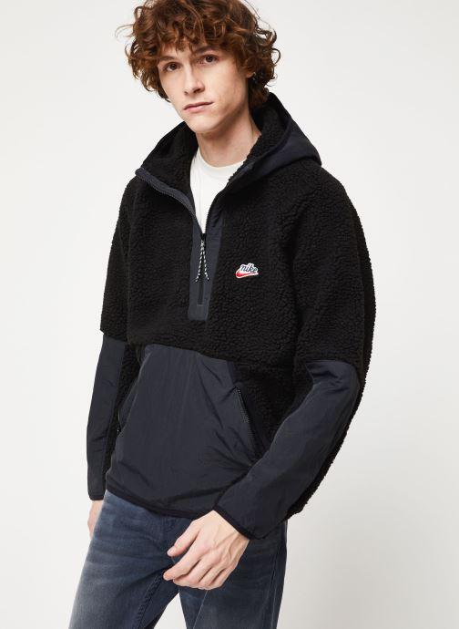Vêtements Nike M Nsw He Hoodie Hz Winter Noir vue détail/paire