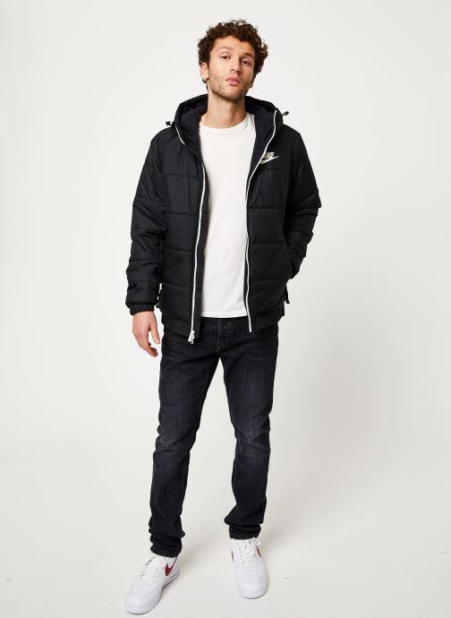 Vêtements Nike M Nsw Syn Fill Jkt Hd Fz Noir vue bas / vue portée sac