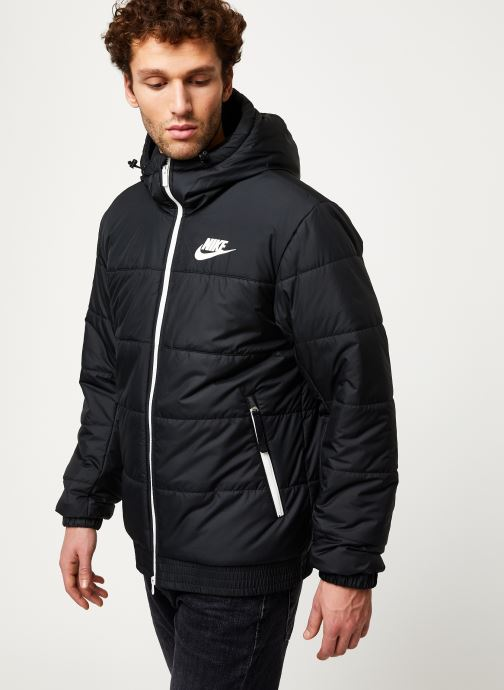 Vêtements Nike M Nsw Syn Fill Jkt Hd Fz Noir vue droite