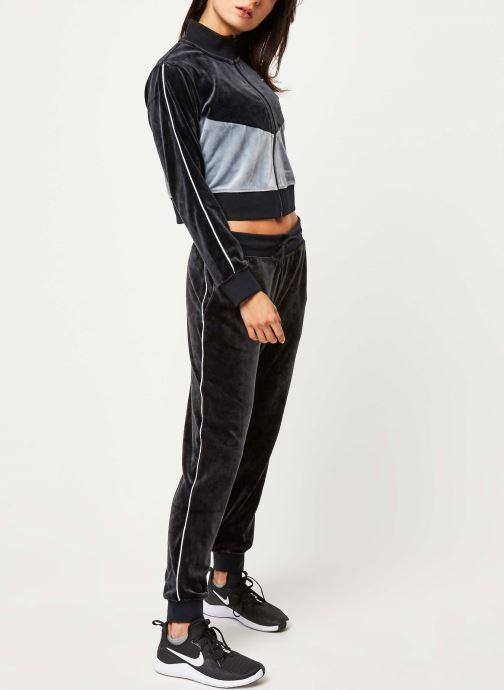 Vêtements Nike W Nsw Hrtg Pant Plush Noir vue bas / vue portée sac