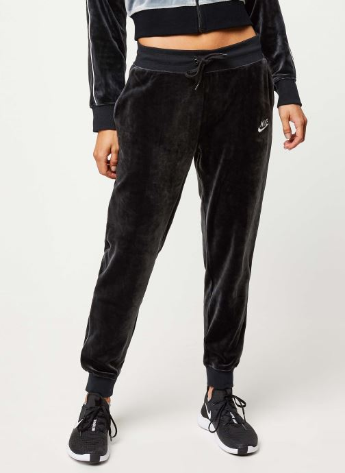 Vêtements Nike W Nsw Hrtg Pant Plush Noir vue détail/paire