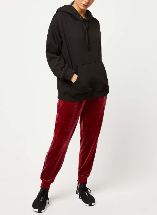 Vêtements Nike W Nsw Hrtg Pant Plush Rouge vue bas / vue portée sac