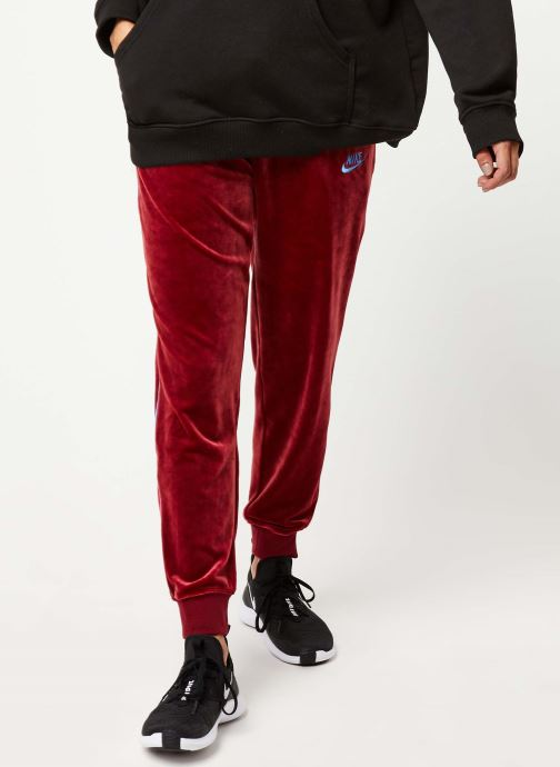 Vêtements Nike W Nsw Hrtg Pant Plush Rouge vue détail/paire