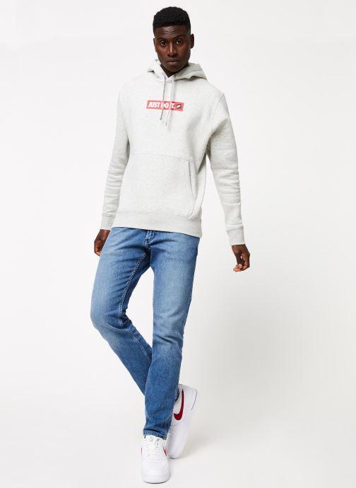 Tøj Nike M Nsw Jdi Hoodie Po Bb Bstr Grå se forneden