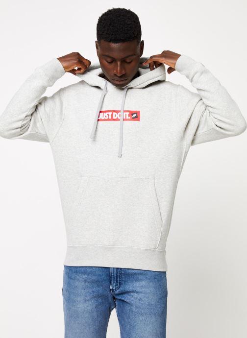 Tøj Nike M Nsw Jdi Hoodie Po Bb Bstr Grå Se fra højre