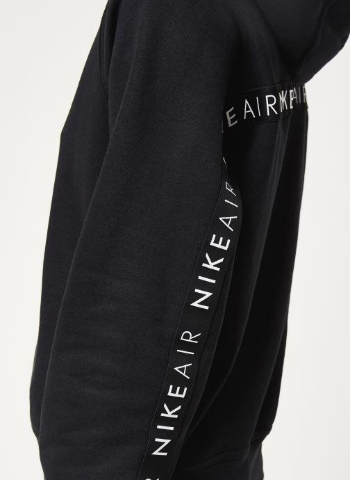 Vêtements Nike W Nsw Air Hoodie Bb Noir vue face