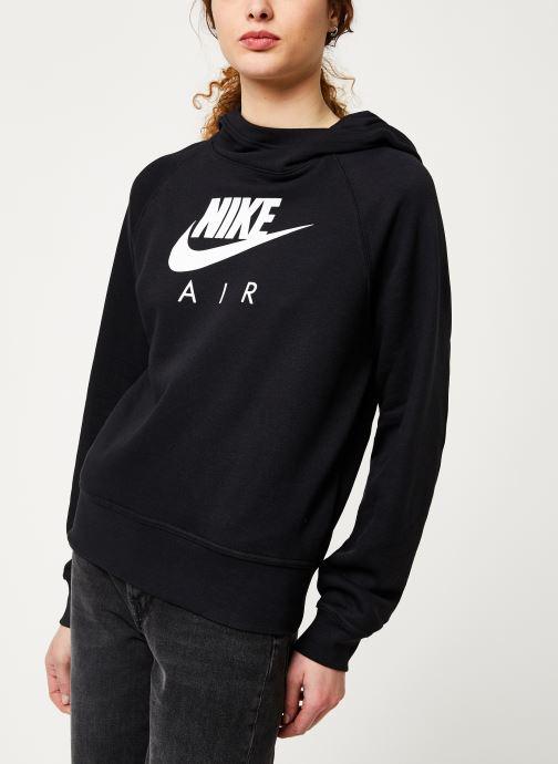 Vêtements Nike W Nsw Air Hoodie Bb Noir vue droite