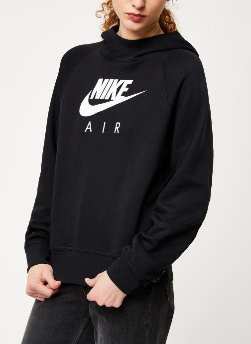 Vêtements Nike W Nsw Air Hoodie Bb Noir vue détail/paire