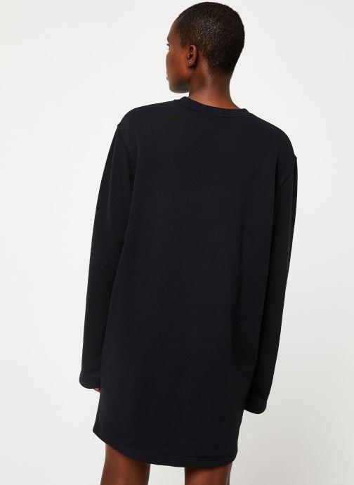 Nike W Nsw Air Crew Dress Bb Flc (Svart) Kläder på Sarenza