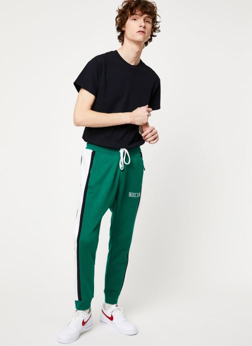 Vêtements Nike M Nsw Nike Air Pant Flc Vert vue bas / vue portée sac