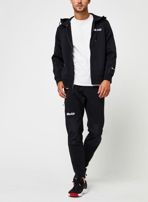 Vêtements Nike M Nsw Nike Air Pant Flc Noir vue bas / vue portée sac
