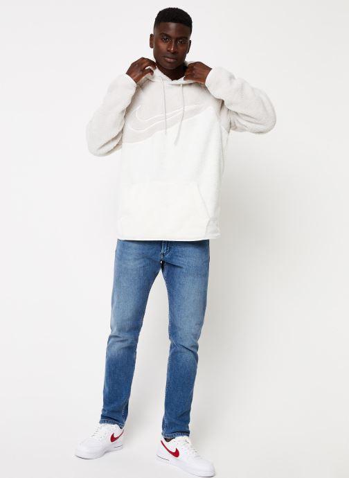 Vêtements Nike M Nsw Swoosh Hoodie Po Ssnl Gris vue bas / vue portée sac