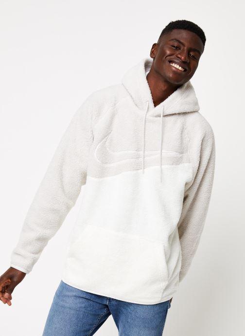 Vêtements Nike M Nsw Swoosh Hoodie Po Ssnl Gris vue détail/paire