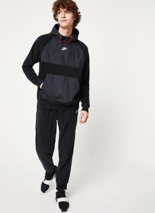 Nike Sweatshirt hoodie - M Nsw Ce Hoodie Po Winter (Noir) - Vêtements (411360)