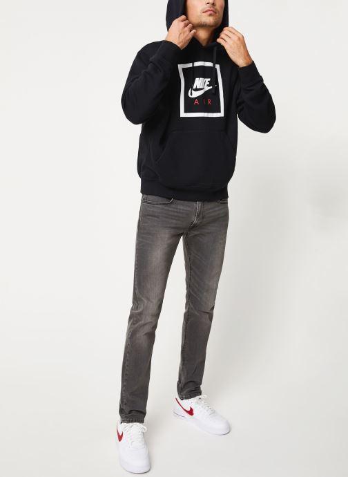Vêtements Nike M Nsw Po Hoodie Nike Air 5 Noir vue bas / vue portée sac