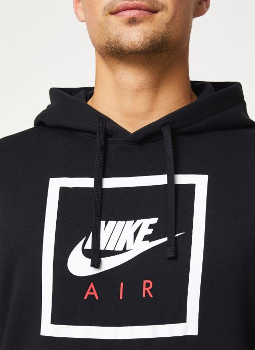 Vêtements Nike M Nsw Po Hoodie Nike Air 5 Noir vue face