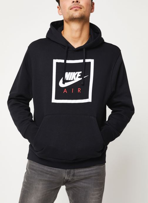 Vêtements Nike M Nsw Po Hoodie Nike Air 5 Noir vue droite