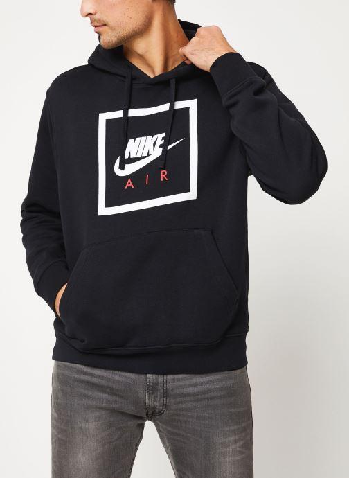 Vêtements Nike M Nsw Po Hoodie Nike Air 5 Noir vue détail/paire
