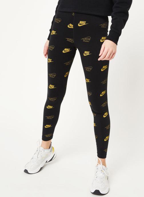 Vêtements Nike W Nsw Lggng Aop Shine Bff Noir vue détail/paire