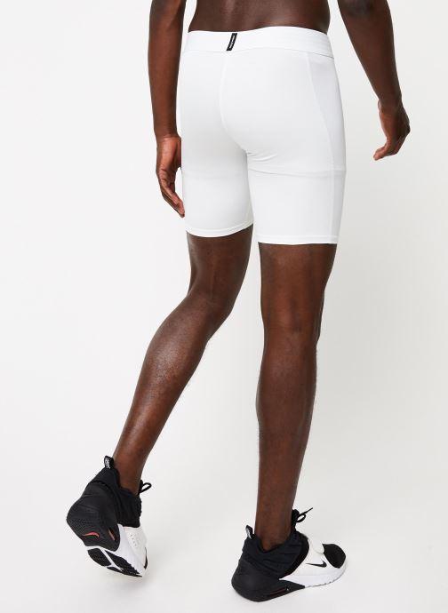 Vêtements Nike M Np Short Blanc vue portées chaussures