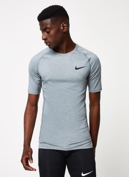 Tøj Nike M Np Top Ss Tight Grå Se fra højre