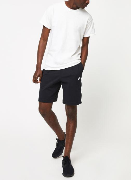 Tøj Nike M Nsw Club Short Jsy Sort se forneden