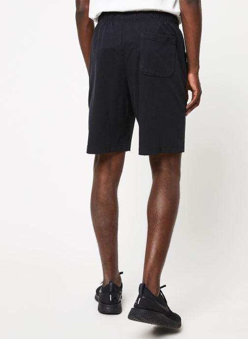 Vêtements Nike M Nsw Club Short Jsy Noir vue portées chaussures