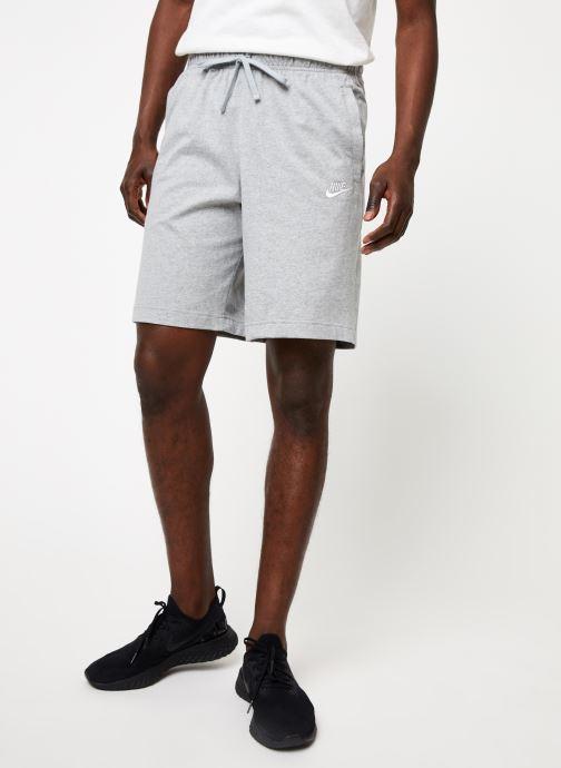 Tøj Nike M Nsw Club Short Jsy Grå detaljeret billede af skoene