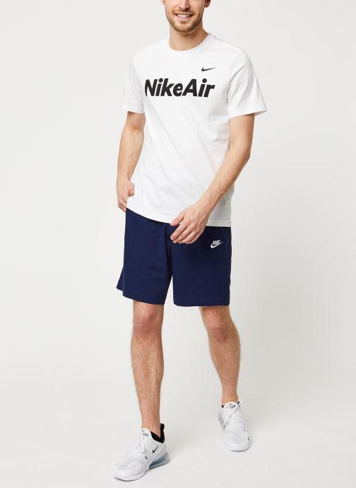 Vêtements Nike M Nsw Club Short Jsy Bleu vue bas / vue portée sac
