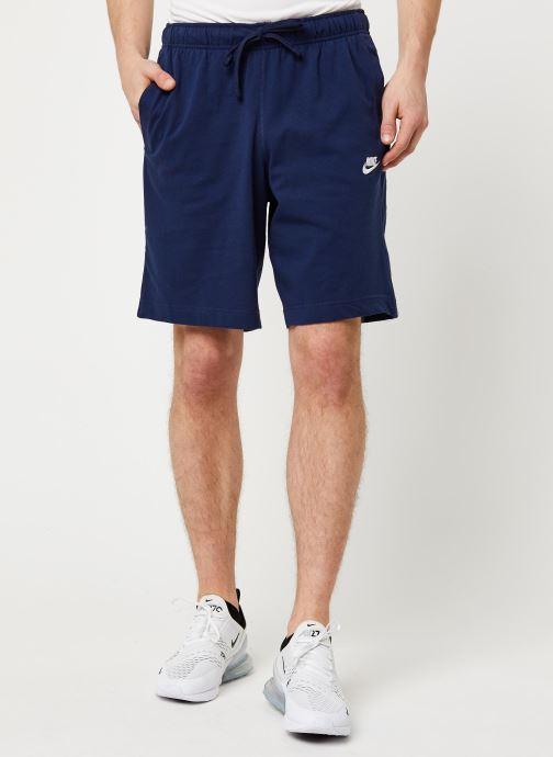 Vêtements Nike M Nsw Club Short Jsy Bleu vue détail/paire