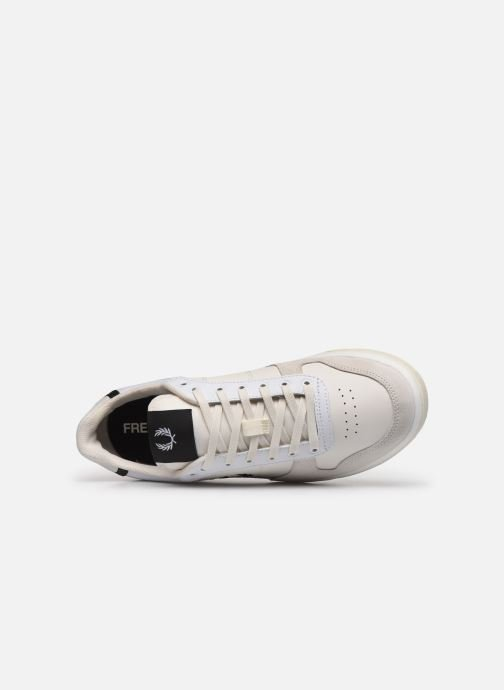 Baskets Fred Perry B300 LEATHER Blanc vue gauche