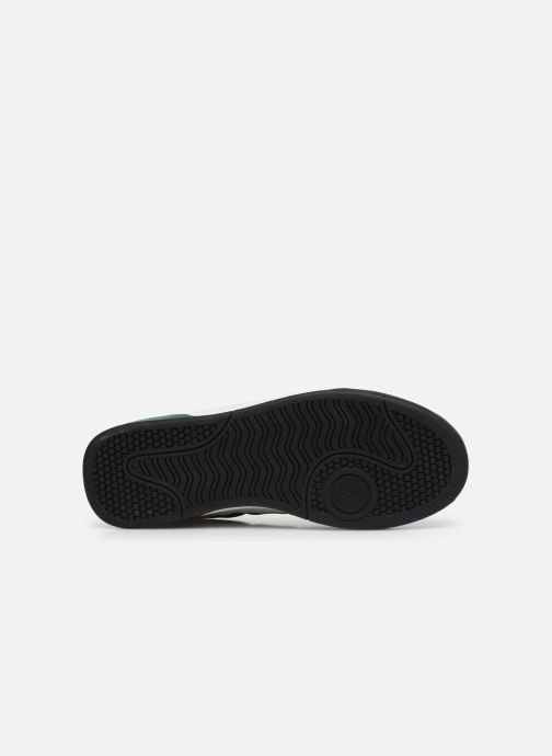 Baskets Fred Perry B300 SUEDE Blanc vue haut