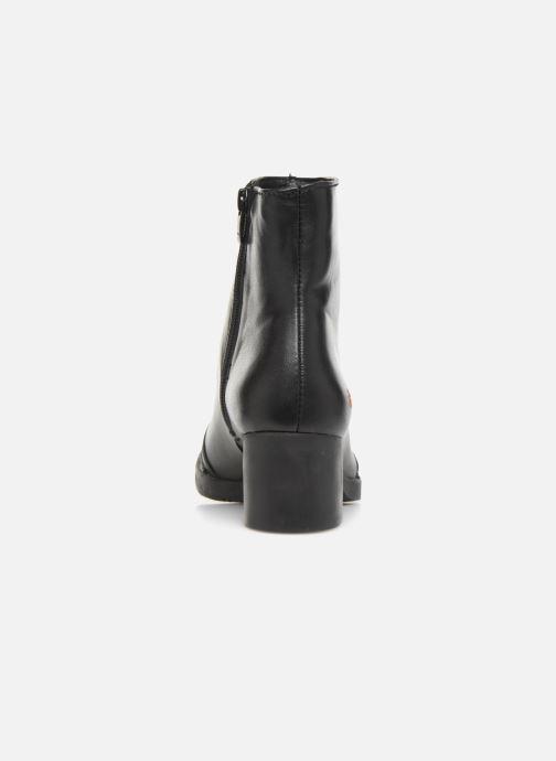 Bottines et boots Art BRISTOL 0077-new Noir vue droite