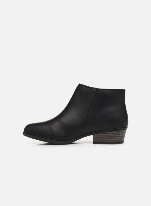 Bottines et boots Clarks Addiy Terri Noir vue face