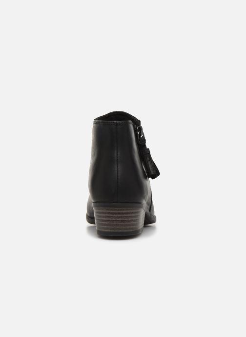 Bottines et boots Clarks Addiy Terri Noir vue droite
