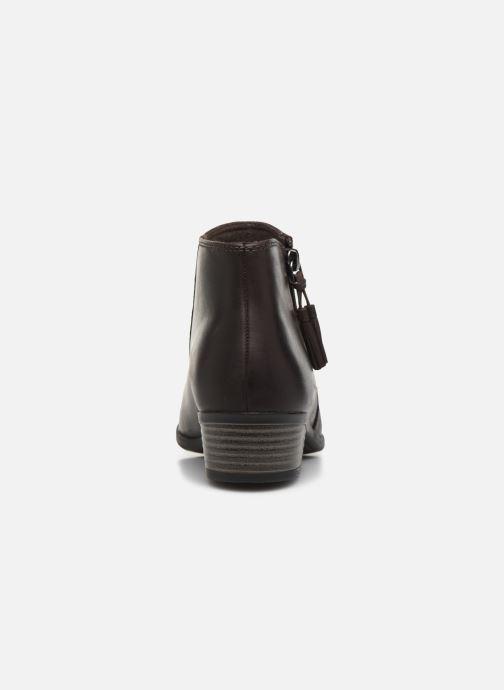 Bottines et boots Clarks Addiy Terri Marron vue droite