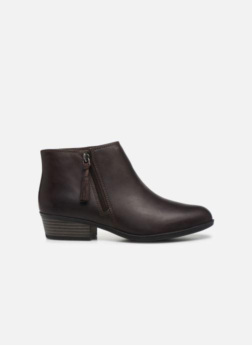 Bottines et boots Clarks Addiy Terri Marron vue derrière