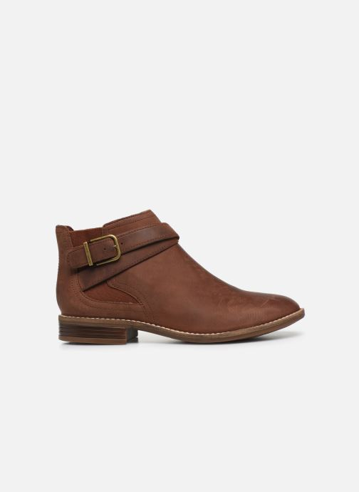 Ankle boots Clarks Camzin Hale Brown back view
