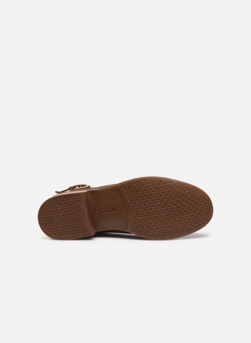 Bottines et boots Clarks Camzin Hale Marron vue haut
