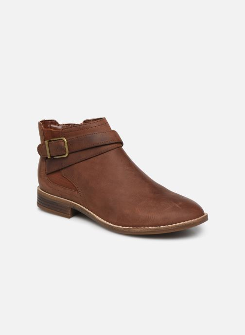 Ankle boots Clarks Camzin Hale Brown detailed view/ Pair view