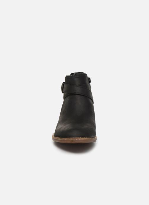 Bottines et boots Clarks Camzin Hale Noir vue portées chaussures