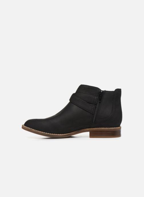 Bottines et boots Clarks Camzin Hale Noir vue face