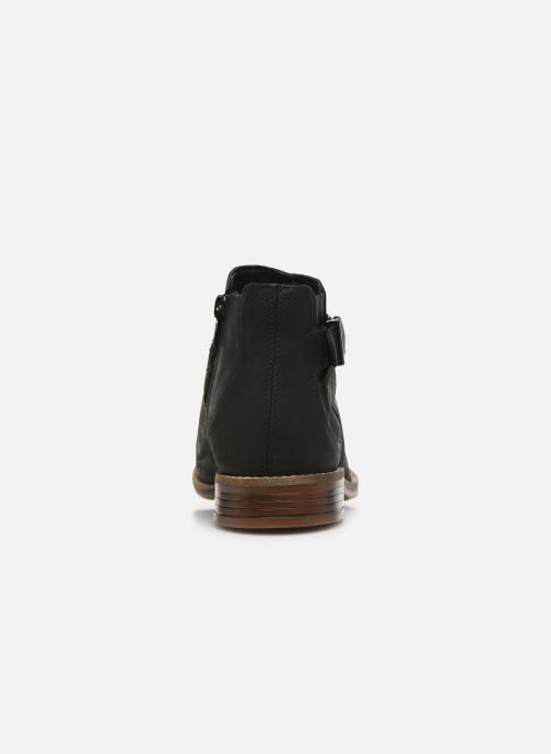 Ankle boots Clarks Camzin Hale Black view from the right