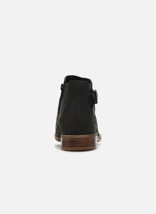 Bottines et boots Clarks Camzin Hale Noir vue droite