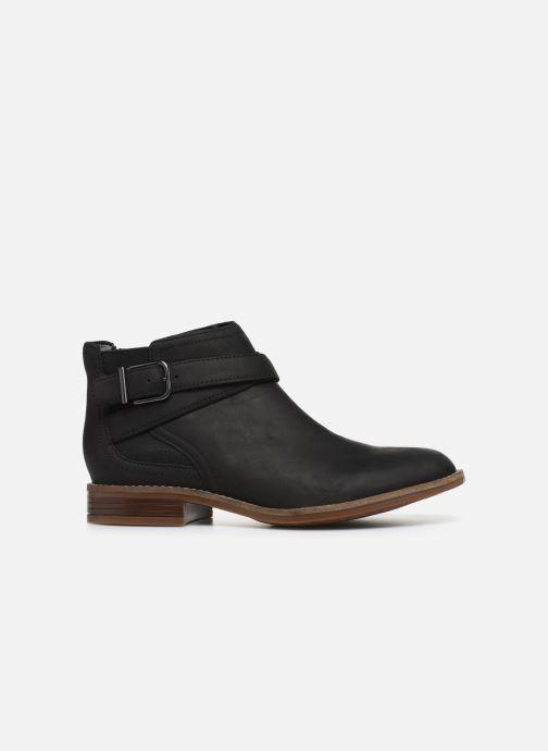 Ankle boots Clarks Camzin Hale Black back view