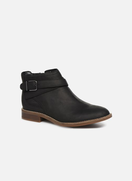 Ankle boots Clarks Camzin Hale Black detailed view/ Pair view