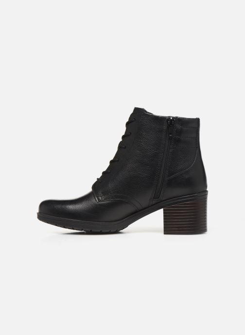 Bottines et boots Clarks Hollis Jasmine Noir vue face