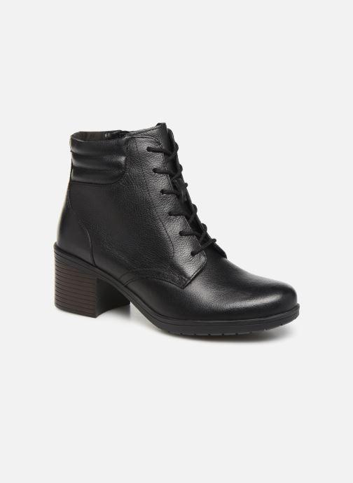 Bottines et boots Clarks Hollis Jasmine Noir vue détail/paire