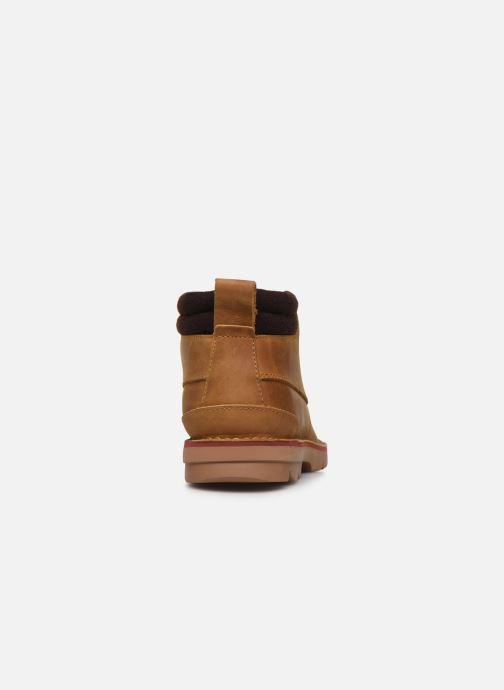Bottines et boots Clarks Varick Heal Marron vue droite