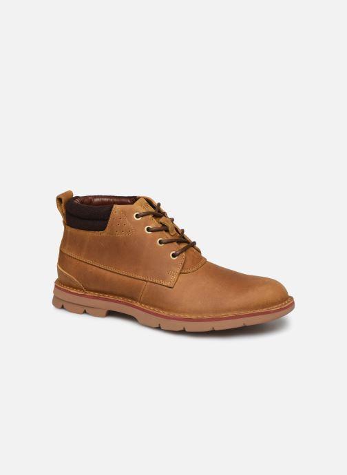 Bottines et boots Clarks Varick Heal Marron vue détail/paire